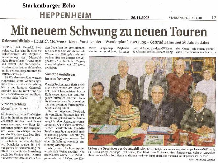 Zeitungsartikel-2008-11-25